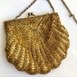 Vintage La Regale hand made beaded purse